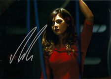 JENNA COLEMAN CLARA OSWALD SIGNED AUTOGRAPH 6 x 4 PRE PRINTED PHOTO VICTORIA