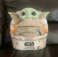 BABY YODA PLUSH The Child Mandalorian Star Wars 11 inch Mattel Official IN HAND