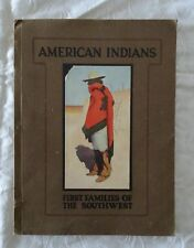 American Indians by J. F. Huckel | 1920 large Illustrated (Vintage Children's)