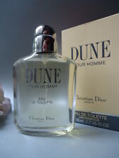 CHRISTIAN DIOR DUNE HOMME EDT 50ml Rare New Vintage 1990s New Mint Sealed Box