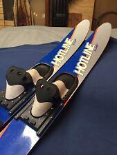 "New listing Kidder Hotline High Performance Hl 2000 Combo Water Skis Slalom 67"" Good!"