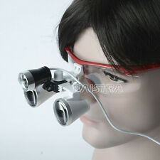 ES Dental Loupes Optical Glass & LED Light Lamp Portable Head Surgical Binocular
