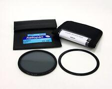 Heliopan cir-filtro polarizante Delgado 105 mm + Soporte Lee 105 mm Delantero Anillo! nuevo!