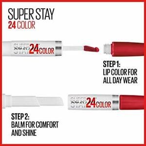 Maybelline SuperStay 24 - 2-Step Liquid Lipstick-4 colors to choose from