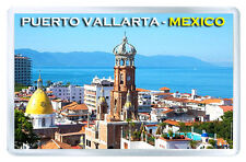 MEXICO PUERTO VALLARTA FRIDGE MAGNET SOUVENIR IMAN NEVERA