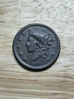 1838 Large Cent, 2/24/21, Free Shipping