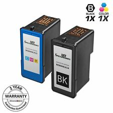 2p Reman Ink Cartridge Set for Lexmark 14 18C2090 15 18C2110 Black & Color Z2320