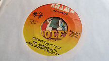 Syl Johnson w/James Cotton's Blues Band 45 You Don't Have to Go Chicago Soul