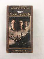 Pearl Harbor VHS 2001 2 Tape Set 60th Anniversary Edition Affleck Hartnett THX