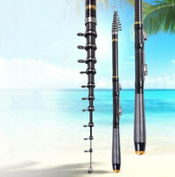 Portable Telescopic Fishing Rod 2.7M-6.3M Rock Fishing Super Hard Carbon Carp