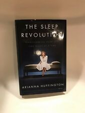 The Sleep Revolution by Arianna Huffington - Book, Pillow, Eye Mask and Tote