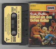 MC - Rätsel um den tiefen Keller - Folge 6 - Enid Blyton - Kassette - Europa EA