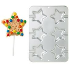 **WILTON**     6 Cavity Star Cookie Treat Pan - What A Great Party Favour!