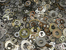1LBS LOT OF MIXED ALUMINUM WASHERS WASHER MIX MILITARY SURPLUS 450+