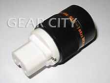 ppl50 Gold IEC C13 Mains Power Plug Female Copper Connector Cable Cord HiFi