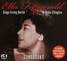 ELLA FITZGERALD - SINGS IRVING BERLIN & DUKE ELLINGTON 3 CD NEUF