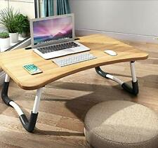 Foldable Laptop Bed Table Lap Desk Stand, Serving Tray Dining Table