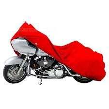 XXXL Red Motorcycle Rain Dust Cover Fit Harley Davidson Road Glide Custom FLTRX