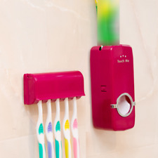 Neutral Toothpaste Dispenser Toothpaste Squeezer With Brush Holder Set For Home