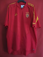 Maillot Espagne Adidas Spain 2004 Jersey football Soccer Vintage - XL