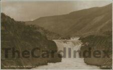 CWM RHEIDOL / RHEIDOL VALLEY Falls Postcard Aberystwyth CARDIGANSHIRE Judges Ltd
