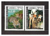 Bolivia 1993 MNH Upaep Animals 2v 37181