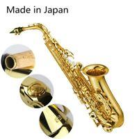 YAS-62 Professional Alto Drop E Saxophone Gold Alto Saxophone with Band Mouth