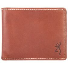 Browning Leather Bi-Fold Wallet - Cognac Leather- #BGT1090- NEW!!