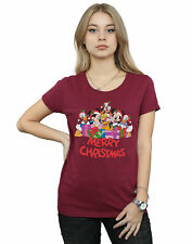 Disney Mujer Mickey Mouse And Friends Christmas Camiseta