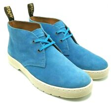 Dr. Martens Cabrillo  Men's Suede Leather 2 Eye Desert Boots Mid Blue US 8