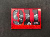 1997-98 NBA HOOPS GRANT HILL RARE 911 DIE-CUT RED SPARKLE #N2