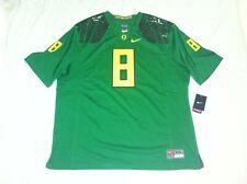 Oregon Ducks #8 (Marcus Mariota) Green Alternate Mens 3XL 2014 Nike Game Jersey