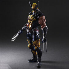 Play Arts Kai Wolverine X-men PVC Action Figure Toy Model Statue Best Gift