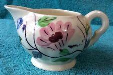 Blue Ridge Pottery - Chintz pattern - Creamer