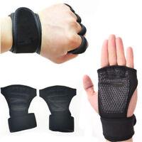 Fitness Gloves Weight Lifting Sport Workout Training Wrist Wrap for Men/Women---