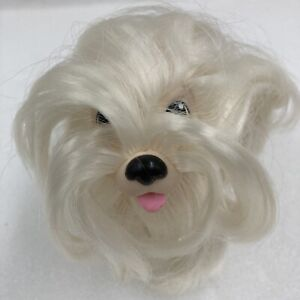 "Sweetie Pups Maltese 1989 Hasbro 4"" Tall"