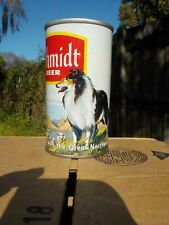 SCHMIDT COLLIE DOG SHEEP BY ASSOCIATED STRAIGHT STEEL OLD BEER CAN FROM SET 13