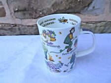 "DUNOON ""GARDENER"" FINE BONE CHINA MUG ,A DESIGN BY CHERRY DENMAN"