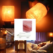 Salt Lamps Himalayan Natural Crystal Rock Stone Night Light Cordless Holder US