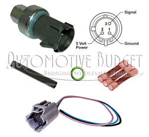 A/C Pressure Switch Update Kit for Various Chrysler Dodge & Jeep Vehicles - NEW