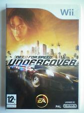 Need for speed undercover Jeu Vidéo Nintendo Wii