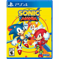 Sonic Mania (PlayStation 4 / ps4, 2017) Brand new.