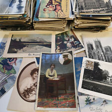 Postcards Job Lot Vintage Old UK/Foreign Topographical & Subject 1900s to 1980s