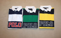 NEW Polo Ralph Lauren Big and Tall POLO Logo Striped Shirt