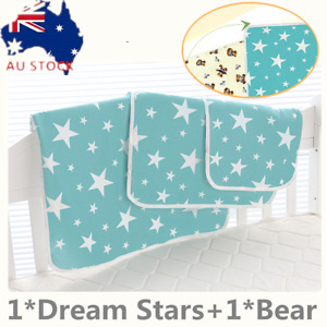 Baby Change Mat Waterproof Mat Soft Large Urine Mat Change Pad Cover OZ