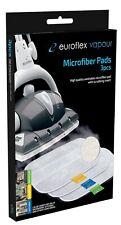 Microfibre Pads with Scrubbing Insert - Euroflex Vapour & Monster Floor Steamer