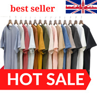 Men's Plain T Shirts 100% Cotton || Stock Clearance Sale 🔥Best Offer'