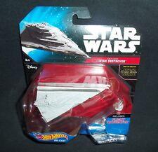 Star Wars First Order STAR DESTROYER FLIGHT NAVIGATOR 2015 Hot Wheels
