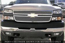 Grille-SW Upper 2pc Insert GRILLCRAFT fits 03-05 Chevrolet Silverado 1500