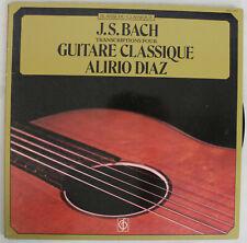 Disque Vinyle - Alirio Diaz - J.S Bach trancriptions pour guitare classique- INT
